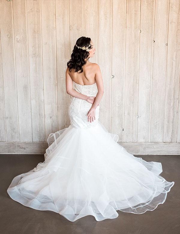Dramatic Mermaid Wedding Dress by Hayley Paige