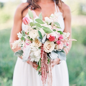 Romantic Bohemian Summer Bouquet