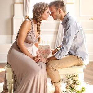 Intimate Love Story Styled Engagement Shoot
