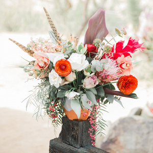 Intimate Vow Renewal in Joshua Tree