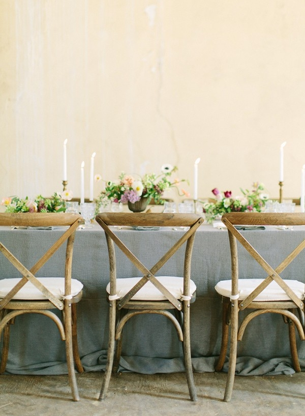 Romantic Country Style Head Table