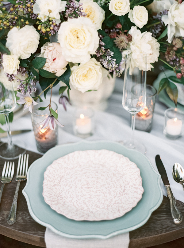 Vintage Garden Glam Wedding Decor