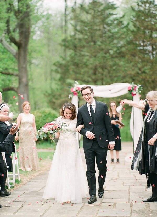 Whimsical Spring Wedding Day