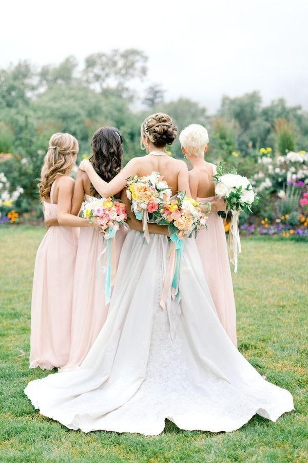 Chic Southern Garden Wedding with a Preppy Bridal Party