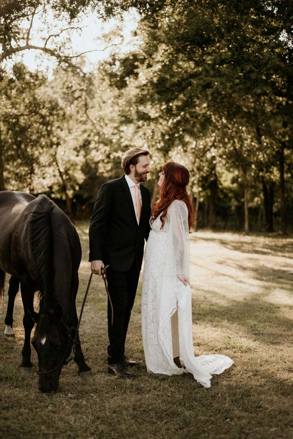 Boho Ranch Wedding with Equestrian Inspiration 14