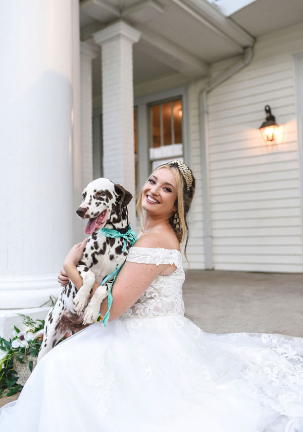 Charming Carolina Elopement with Dalmatians 11