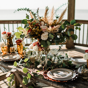 Coastal Country Tablescape