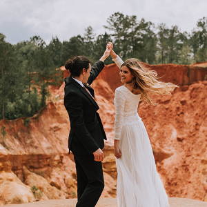 Dreamy Boho Red Bluff Elopement 15