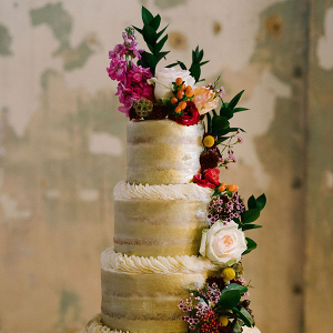 Emerald Gold Wedding with Industrial Details 2