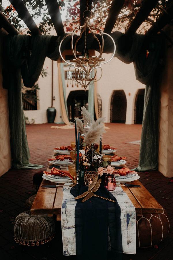 Moroccan Inspired Wedding Style 14