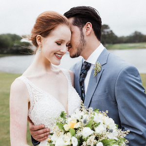 Timeless Wedding Inspo with Classic Blue Details