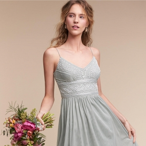 bhldn bridesmaids dress