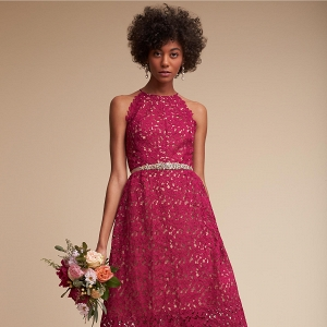 lace bridesmaids dress