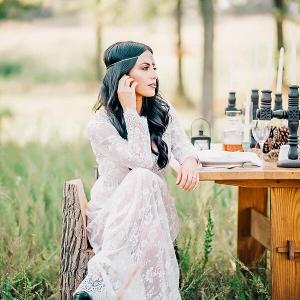 Bohemian Countryside Wedding