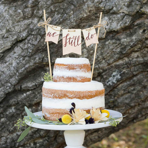 Boho-Picnic-Anniversary-Session-naked-wedding-cake