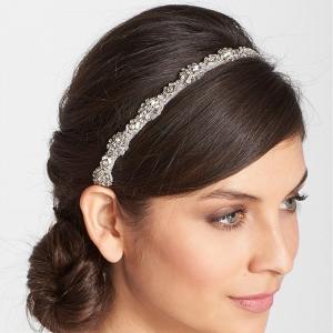 Bridesmaids Crystal Belt and Headband