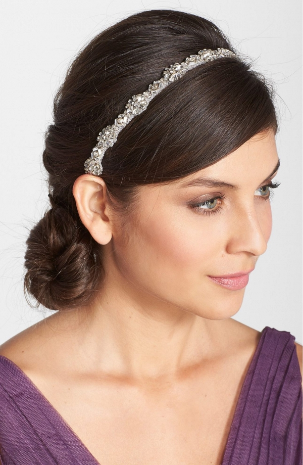Bridesmaids Crystal Belt and Headband