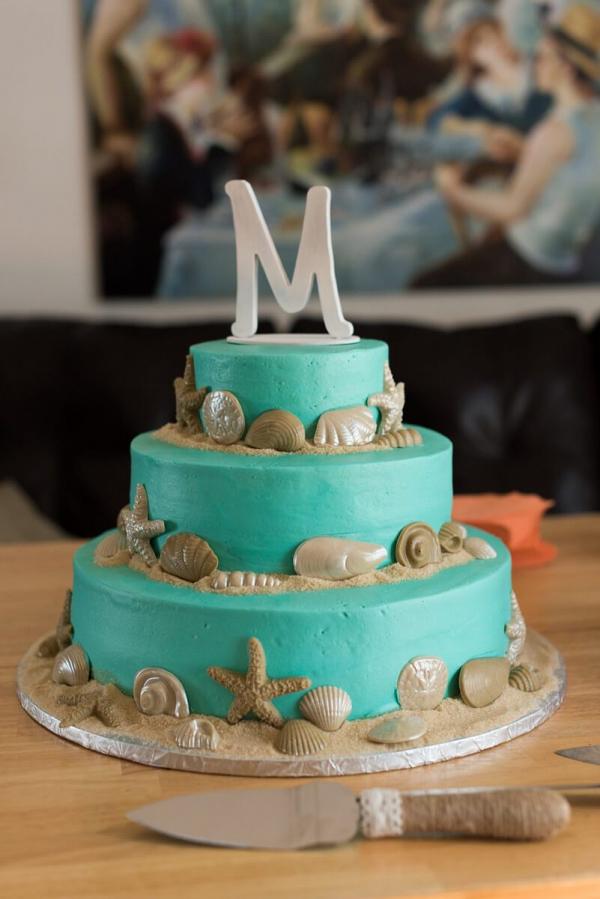 Pink-Blue-Virginia-Beach-Wedding-beach-wedding-cake