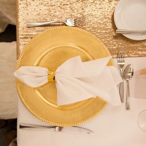 Elegant-Purple-Gold-Wedding-place-setting
