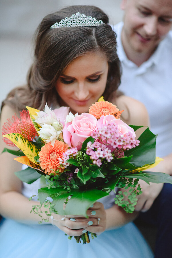 Fairytale Garden Engagement Toronto - Wedding bouquet
