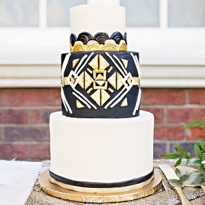 Gatsby-Glam-Wedding-Inspiration - Art Deco Wedding