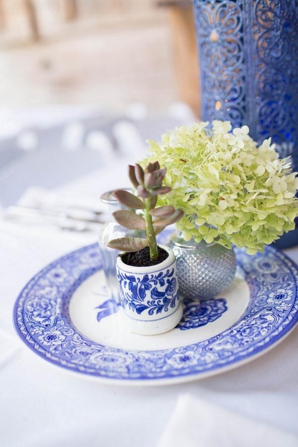 Handmade Vintage Wedding - Vintage plate