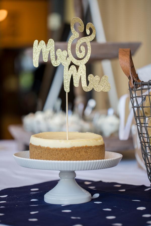 Kate Spade Inspired Wedding - cake pie