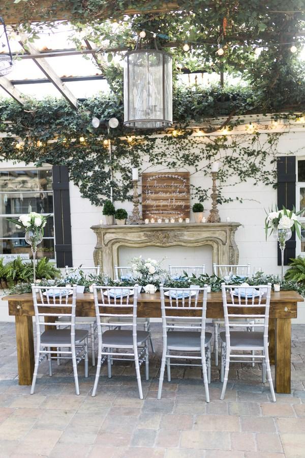 Mid-Summer Romance styled shoot - wedding decor