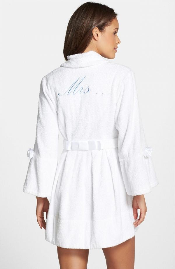 Mrs honeymoon robe