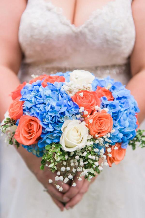 Blue-and-Orange-Fall-Wedding-Bouquet-from-Oktoburgerfest-themed-Wedding