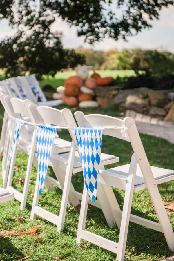 Ceremony-chair-decor-from-Oktoburgerfest-themed-Wedding