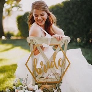 Romantic-Garden-Bridal-Inspiration-Bride-chair-sign
