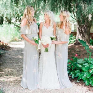 Romantic-Neutral-Colored-Wedding-Bridesmaids-in-Showmeyourmumu-dress
