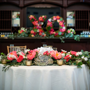 XO-floral-decor-from-a-Romantic-Vineyard-Virginia-Wedding