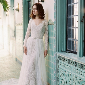 Sareh-Nouri-Morning-Glory - wedding dress