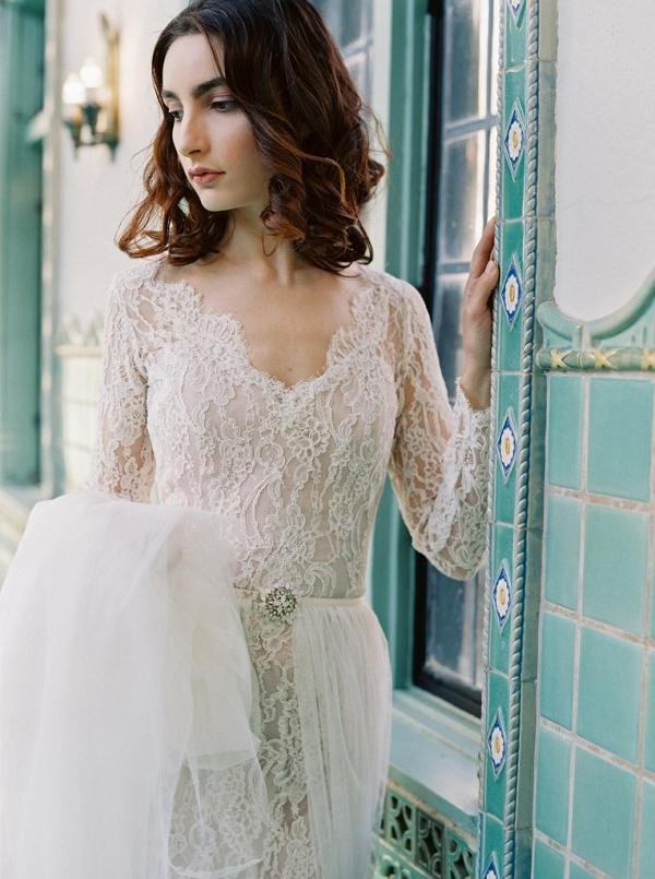 Sareh-Nouri-Morning-Glory- Long sleeved wedding dress