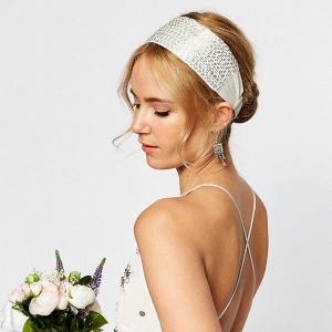 Seedbead headband