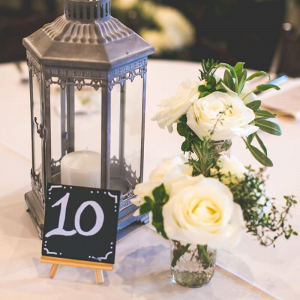 Rustic-Ranch-Texas-Wedding-centerpiece