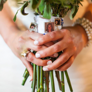 Rustic-Ranch-Texas-Wedding-honoring-deceased-on-bouquet
