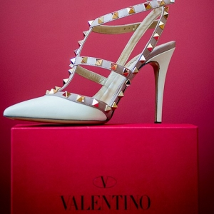 Strappy and Studded Valentino Sandals