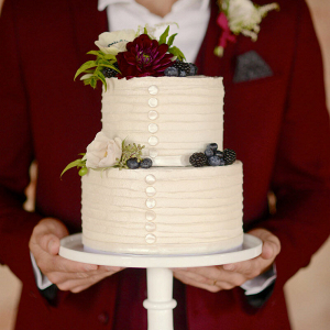 Wine Inspired Fall Wedding Ideas - Groom and Cake