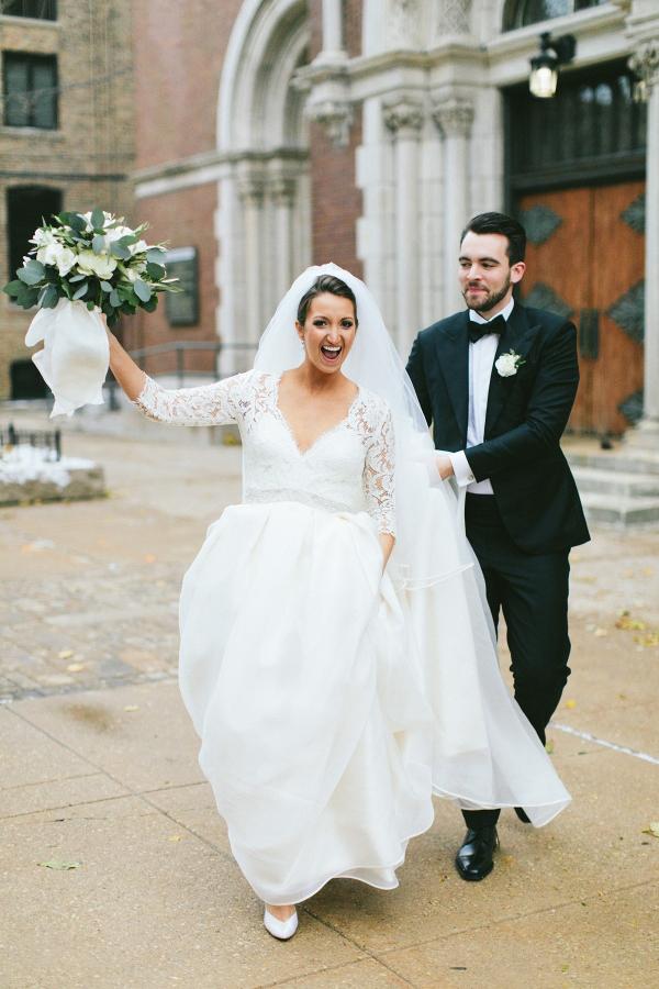 Fall Chicago wedding