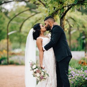 Romantic Chicago Indian wedding