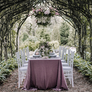 Romantic and whimsical garden wedding