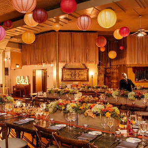 Fall Chicago loft wedding