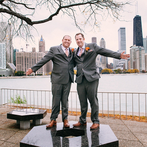 Chicago same-sex wedding