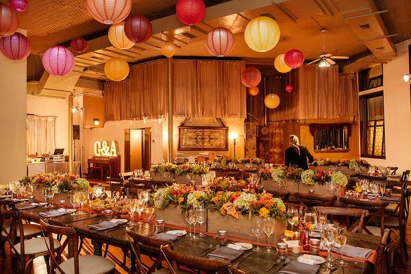 Fall Chicago loft wedding