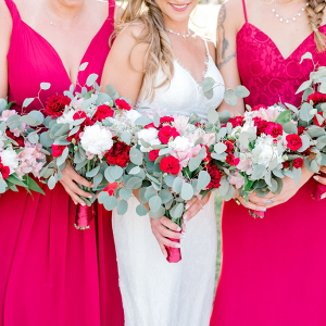 Let's Bee Together - breezy burgundy florida destination wedding – dounia & dan