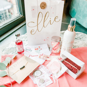 Bridal shower goody bag