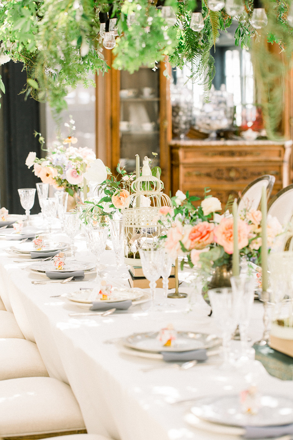 Let's Bee Together - enchanted english garden styled shoot